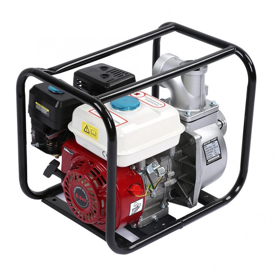 3in Petrol Gasoline Water Transfer Pump 6.5HP 7m Garden Irrigation Swimming Pool Cleaning Pump Garden Pump